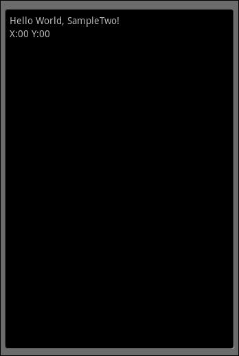 タッチパネル位置情報1